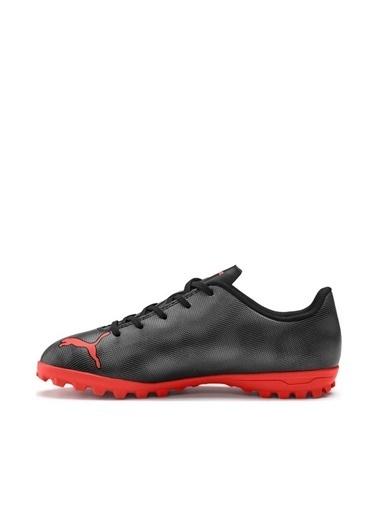 Puma Puma Rapido TT Jr Futbol Çocuk Halı Saha Ayakkabı    Siyah